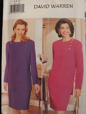 Easy OOP BUTTERICK 4127 MS//Wmns Flared Dress PATTERN 6-8-10//12-14-16//18-20-22 UC