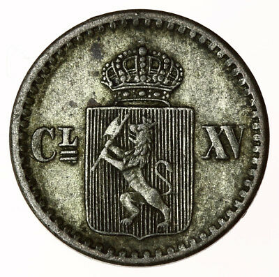 1870 Norway 2 Skilling ~ KM#336.1 Norge