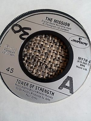 "The Mission - Tower Of Strength 7"" single EX"
