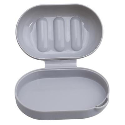 Home Bathroom Shower Travel Hiking Soap Box Dish Plate Holder Case Container LA