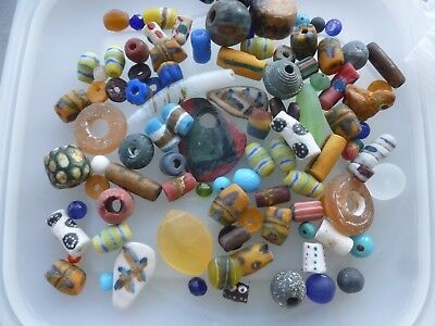 Fantastic Mixed Collection of Glass  Beads