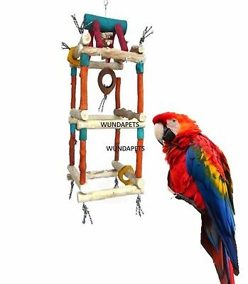 Java Double Tower Extra Large 100 Cm Macaws Large Cockatoos Cage Aviary 4603B