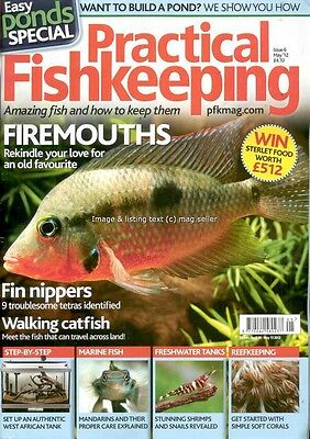 Practical Fishkeeping May 2012 Firemouth Catfish Tetra Mandarin Coral Shrimps