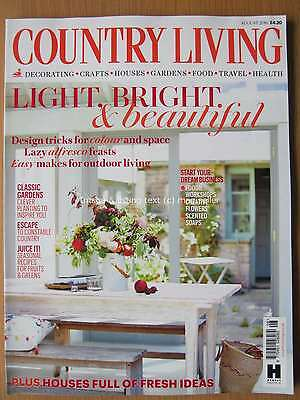 Country Living August 2016 Classic Gardens Constable Country Start a Business