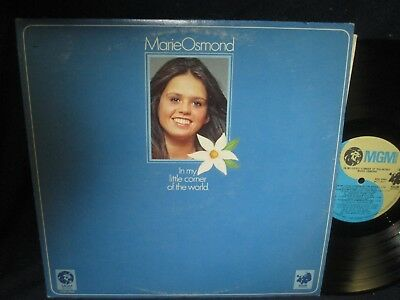"Marie Osmond ""In My Little Corner of the World"" LP"