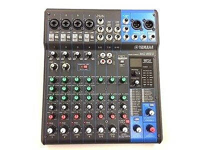 Yamaha mg10xu 10 channel stereo mixer with effects free for Yamaha mg10xu usb cable