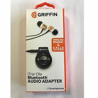 Genuine Griffin Itrip Clip Bluetooth Headphone Audio Adapter For Smartphones