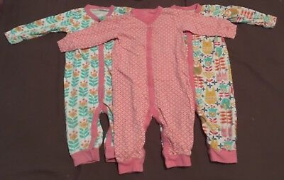 Next Footless Sleepsuits Bundle 12-18 Months 1-1.5 Years Baby Toddler Girl