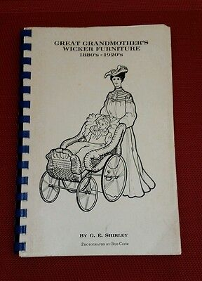 Great Grandmother's Wicker Furniture 1880'S 1920'S SHIRLEY Identification Guide