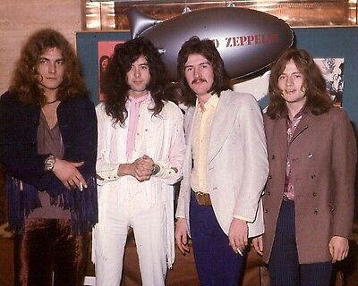"Led Zepplin 10"" x 8"" Photograph no 12"