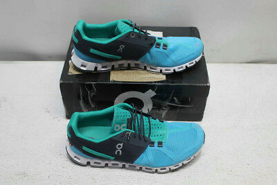 On Size 9 Women's Atoll/Green Cloud Running Shoes- 9.5335