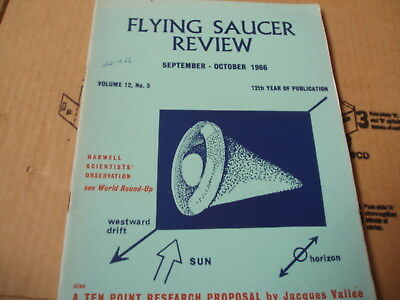 Flying Saucer Review-September/october 1966-A Ten Piont Research Proposal