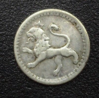 Guatemala 1869 Silver 1/4 Real  Km#130  Extremely Fine