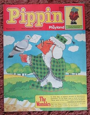 Pippin Comic 8 July 1983. No.876. Nr Mint.  Unread Unsold Newsagents Stock.