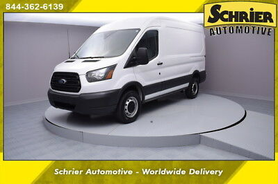2016 Ford Transit Connect Base Standard Cargo Van 3-Door 16 Ford Transit T350 White RWD 3.7L 6 Cylinder Engine White Running Boards