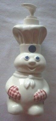 Pillsbury Doughboy Soap/ Lotion dispenser ~~  Used...Very Good Condition
