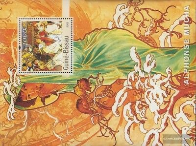 Guinea-bissau Block436 Postfrisch 2003 Gemälde Topical Stamps Art