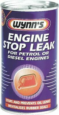Wynns Engine Stop Leak  Stops Oil Leaks Revitalises Rubber Seals 50664 325ml
