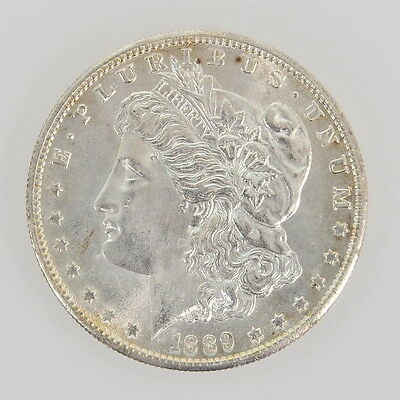 1889 S Silver Morgan One Dollar NGC OBV IMPROPERLY CLEANED Coin