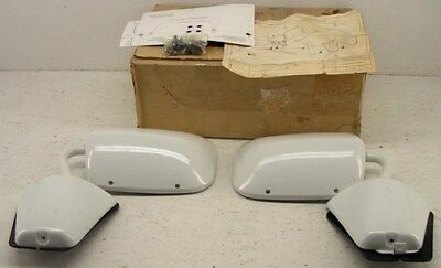 NOS 1979-1988 Outside Painted Mirror Set Chevy GMC G-Van G-10 G-20 G-30 GM