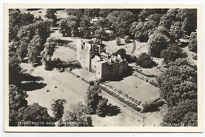 POSTCARDS-SCOTLAND-HADDINGTON-RP. Lennoxlove House from The Air.