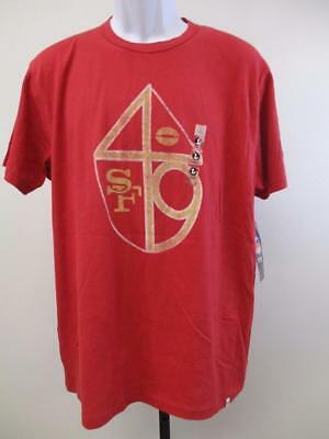 New San Francisco 49ers Mens Sizes M-L-XL 47' Brand Vintage Look Shirt $30