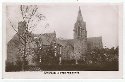 POSTCARDS-SCOTLAND-WATERBECK-RP. Waterbeck Church & Manse.