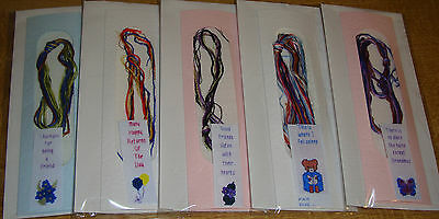 Counted Cross Stitch Bookmark Kit. Ideal Quick Project / Gift. Various Designs.
