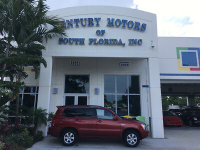 2002 Toyota Highlander  unroof Leather Heated Seat CD JBL 1 Owner