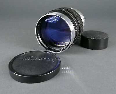 Vtg KOMURA 80mm f:1.8 Sankyo Koki  Camera Lens for Screw Mount Leica