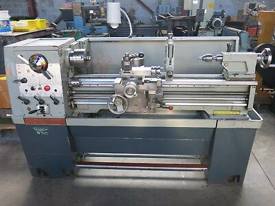 """Clausing Colchester 13x40"""" Lathe in/mm with Aloris Toolpost & Tooling"""