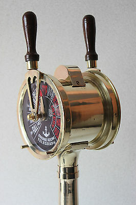 Vintage Nautical Ships Brass Engine HM533 Telegraph Sounding Bells
