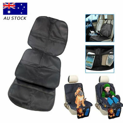 Baby Kids Children Car Booster Under Seat Protector Easy Clean Safety Mat Cover