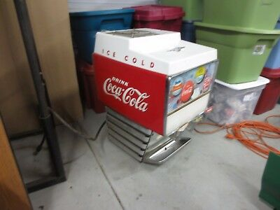 "Vintage COCA COLA Large Ice Chest 42x28x35"" height"