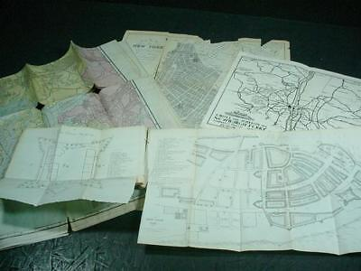 NobleSpirit NO RESERVE {3970} Collection of Antique New York City Maps