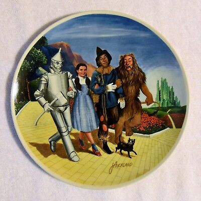 """1979 Knowles 10"""" """"The Grand Finale"""" 8th Wizard of Oz Limited Edition Plate w/COA"""