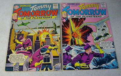 SHOWCASE #46,47 tommy tomorrow PLANETEERS, 1963