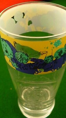 Grolsch beer glass 0.3L Dutch brewery decorative band etched bottom