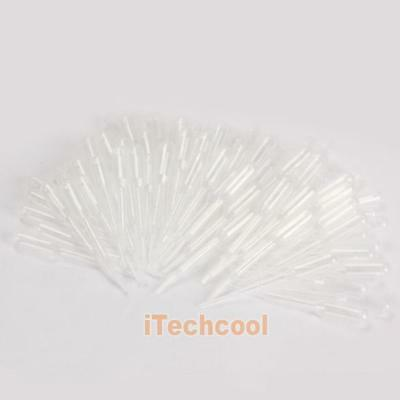 100PCS 0.2ml Graduated Pipettes Dropper Polyethylene for Experiment Medical #T1K