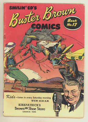 1945 BUSTER BROWN COMIC BOOK #17 Smilin' Ed issue