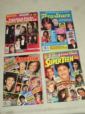Lot Of 4 Teen Magazines From The Mid 1980's