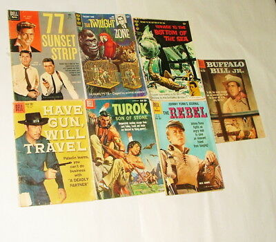 %  1960-70's Cowboy And Tv Show  Comic Book Collection Lot P-16