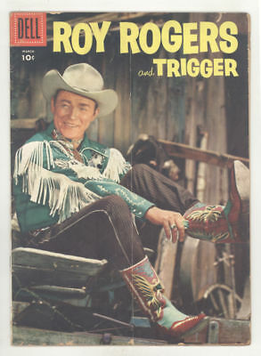 March 1956 ROY ROGERS AND TRIGGER #99 comic book. BUSCEMA art