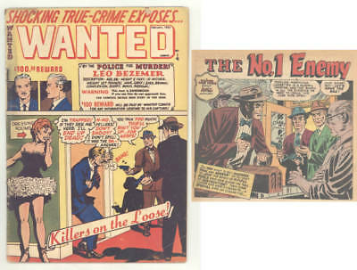 February 1952 WANTED COMICS #45 with MARIHUANA STORY