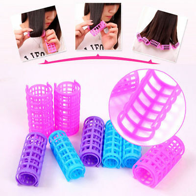 New 5Pcs DIY Plastic Hair Curler Magic Hair Care Rollers Curly Hair Styling Tool