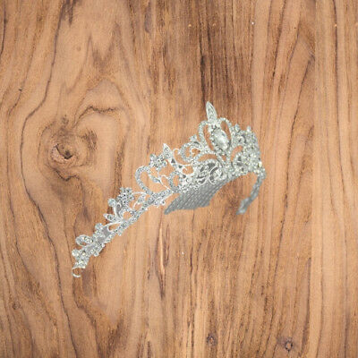 Women Bridal Princess Tiara Crown with Comb for Weddings Parties Special