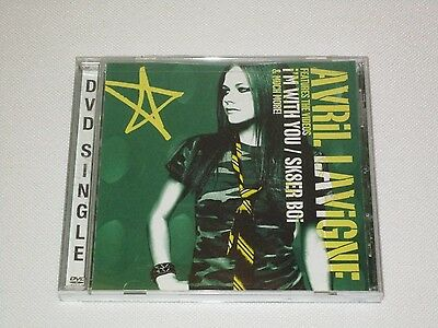 Avril Lavigne - I'm With You/Sk8er Boi (DVD Single, 2003) with Bonus Features