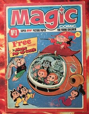 Magic Comic No. 1 .  31 Jan 1976.  Dorothy And The Wizard Of Oz