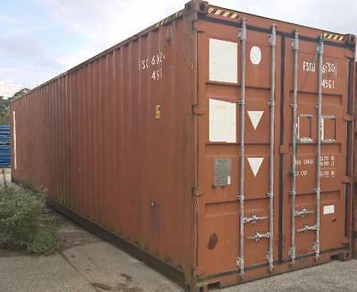 40 Fuß Seecontainer   Lagercontainer Container  Länge 1200cm   Nr.J1