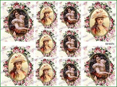 ExQuiSiTe VicToRiaN FLoRaLFraMeD CaMeoS SHaBbY WaTerSLiDe DeCALs